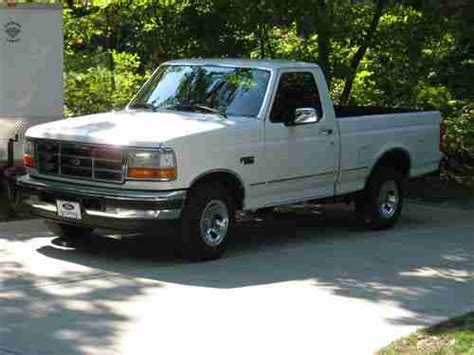 1996 Ford F 150 Specifications by Purchase Used 1996 Ford F 150 Xlt Standard Cab 2