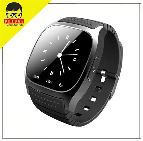 jual murah smartwatch m26 m26 smart for ios android hitam di lapak bridgeacc