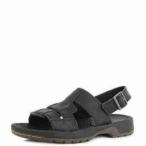 Dr Martens Size Chart Cm Mens Dr Martens Wharf Peidmont Black Leather Sandals Uk