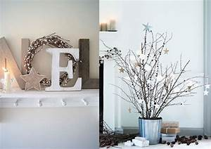 Deco Noel Blanc : decoration de noel bois et blanc ~ Teatrodelosmanantiales.com Idées de Décoration