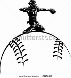 Softball Isolated Stock Photos, Images, & Pictures ...