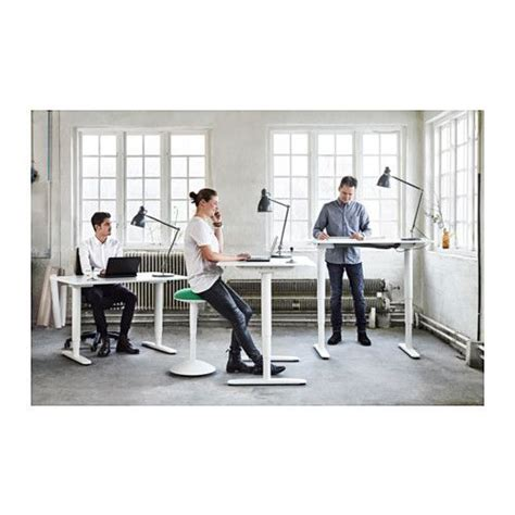 bekant desk sit stand black brown white offices 150