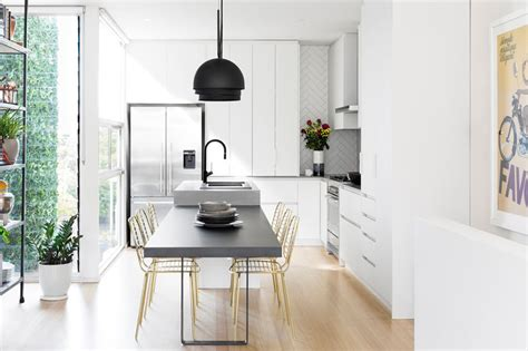 This Modern Kitchen Update Received Touches Of Black And