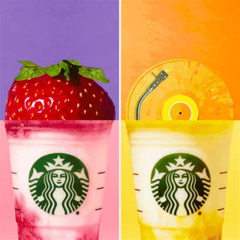 starbucks vibrant  refreshing fruity frappuccinos