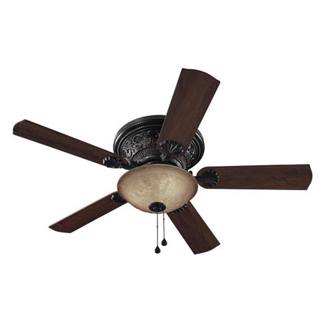 ceiling fans at lowes hardware shop harbor breeze 52 in specialty bronze ceiling fan with