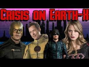 Crisis on Earth X Reaction | CW Arrowverse Crossover ...