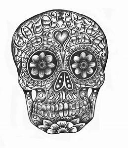 mexican sugar skulls on Tumblr