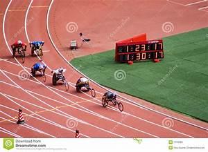 Maratona Dos Homens Em Jogos De Beijing Paralympic Imagem ...