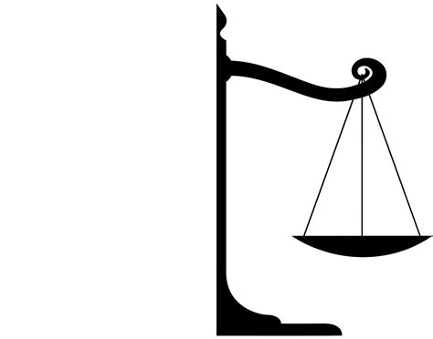 Image Of A Scale Justice Scales Vector Cliparts Co