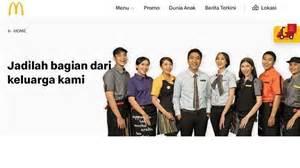 lowongan kerja sma smk   mcd indonesia cari karyawan
