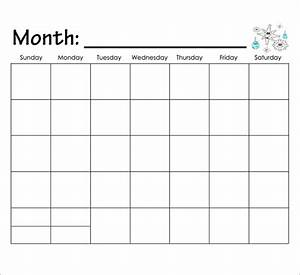 9 best images of kindergarten printable calendar month by With preschool calendar template printables