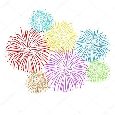 fuochi d artificio clipart sfondo di fuochi dartificio vettoriale vettoriali stock
