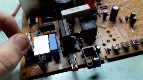 crt tv circuit board diagram circuit diagram images