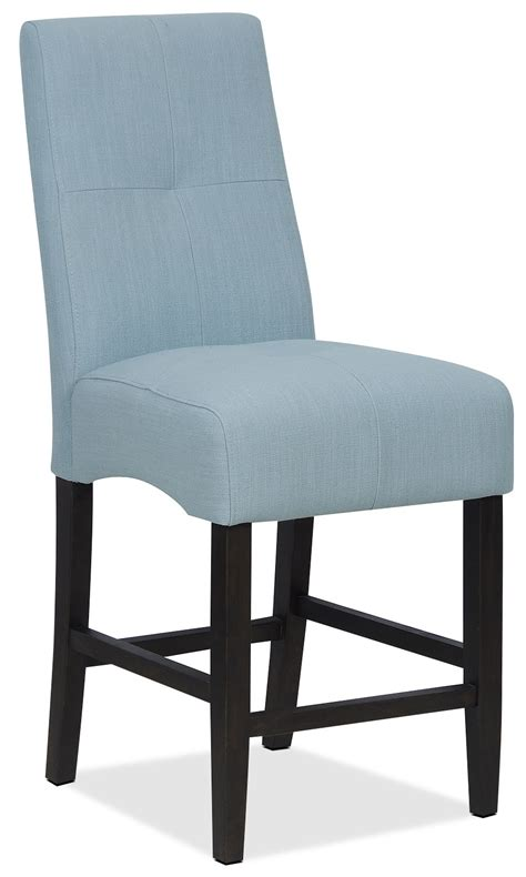 soho counter height dining chair blue the brick
