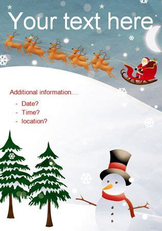 Computer Science Flyer Editible Template by Christmas Party Editable Poster 2 Free Eyfs Ks1