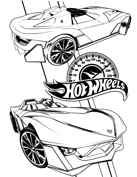 hot wheels coloring pages coloringpages