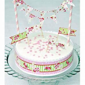 Decor Gateau Anniversaire : decoration anniversaire set decoration g teaux sweet floral ~ Melissatoandfro.com Idées de Décoration