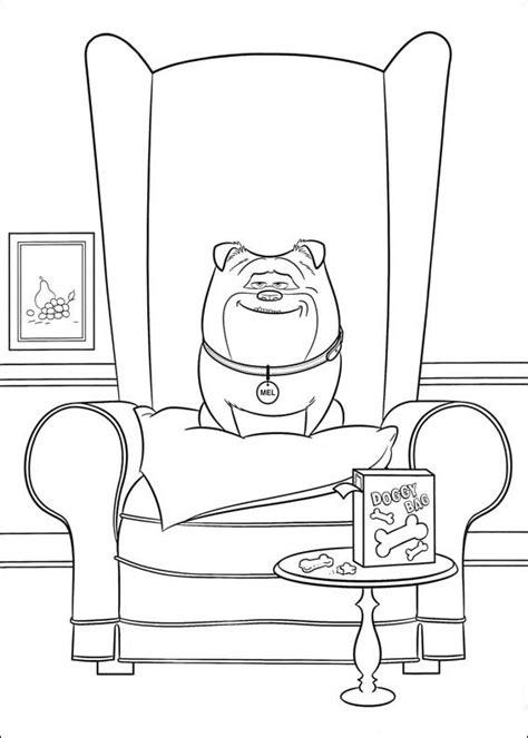 disegni da colorare pets 2 the secret of pets coloring book 2