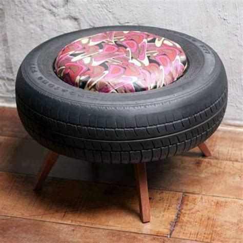 Cup Holder For Sofa by 100 Diy Furniture From Car Tires Tire Recycling Do It