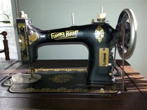florence rotary antique sewing machine vintage sewing