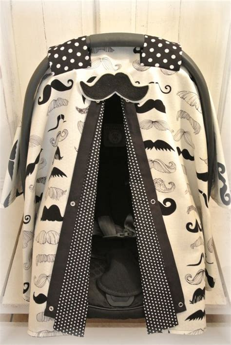 carseat canopy cover mustache carseat cover canopy infant car seat cover by