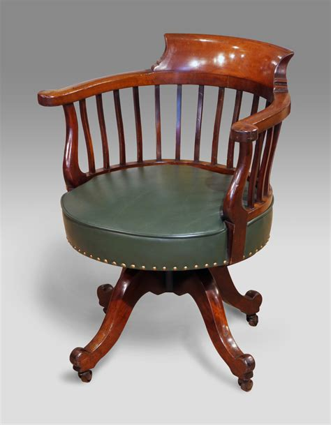 Rotating Corner Cabinet by Antique Captains Chair Antique Office Chair Antique