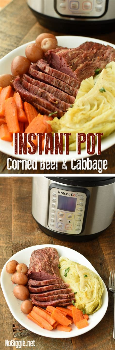 If you would like to make a delicious st. Instant Pot Corned Beef and Cabbage