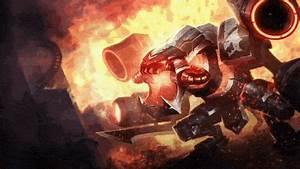 Battlecast Prime Cho'Gath - Login Screen   Create ...