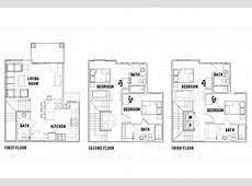 Floor Plans U Club at Overton Park Student Housing