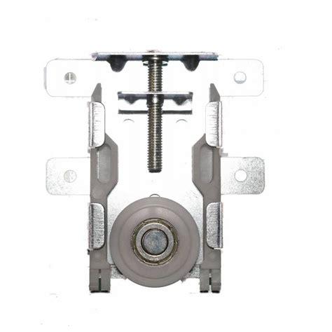 kit pour porte coulissante kit de galet pour porte coulissante x 2 sanilandes