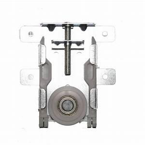galet roulette pour porte coulissante x 1 sanilandes With galet roulette porte de placard coulissante
