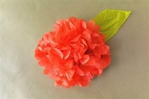 Papierblumen Aus Servietten : blumen selber basteln 55 ideen f r kinder und erwachsene die gern basteln ~ Yasmunasinghe.com Haus und Dekorationen