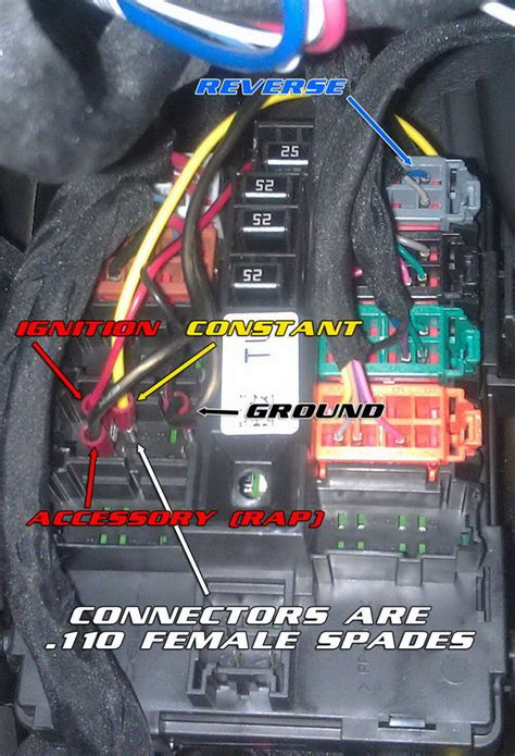 2013 Chevy Light Wiring Color by Cool Mod Add A Front To Your Factory Mirror