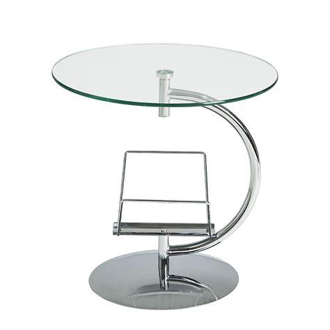glas beistelltisch rund beistelltisch rund glas haus ideen