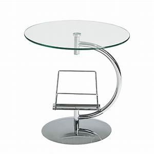 Beistelltisch 50 Cm Hoch : couchtisch beistelltisch rund glas metall 50cm zeitungsst nder tisch neu ebay ~ Bigdaddyawards.com Haus und Dekorationen