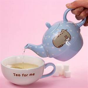 Tea For One Set : pusheen tea for one teapot mug set kawaii panda making life cuter ~ Orissabook.com Haus und Dekorationen