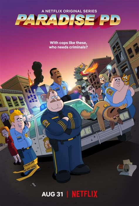 netflixs  animated series paradise pd   trailer
