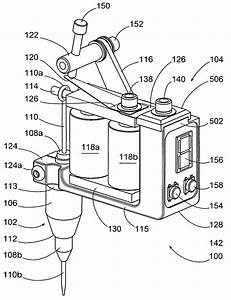 Patent Us20080300615 - Wireless Tattoo Applicator
