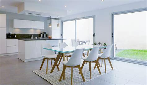 cuisine et vie espace de vie multifonction cuisine ouverte sur la salle