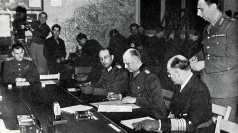 grille de cuisine le 7 mai 1945 est la vraie date de fin de la