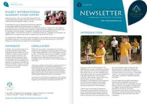 design newsletter print production portfolio pia a4 newsletter design chemical web print packaging and