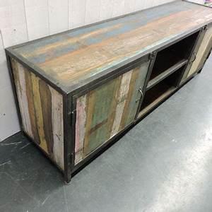 Meuble Tv Metal Bois : meuble tv 70 cm largeur choix d 39 lectrom nager ~ Teatrodelosmanantiales.com Idées de Décoration