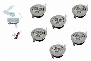 Led Spots Set : spotset 6 stuks ledware uw specialist in ledverlichting led inbouwspot 3 delig doe het zelf ~ Eleganceandgraceweddings.com Haus und Dekorationen