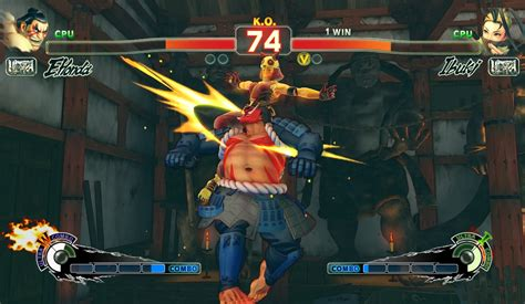 Ultra Street Fighter Iv Ps4 Gameplay Screenshot Honda