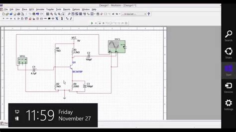 How Draw Amplifier Circuit Using Multisim Software