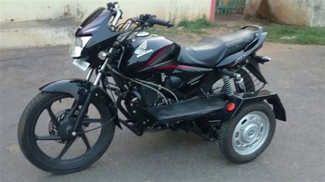 Bike Modification For Handicapped by Honda Shine For Handicapped Ph No 9848458025