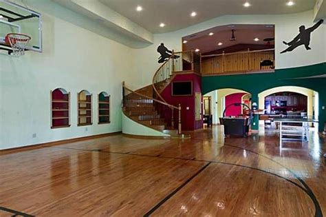 basketball gym   house dream homes mortgage