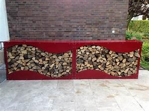 Kaminholzregal Außen Metall : kaminholzregal metall 1 5 m x 1 2 m x 0 35 m oberfl che pulverbeschichtet nach farbkarte ~ Frokenaadalensverden.com Haus und Dekorationen