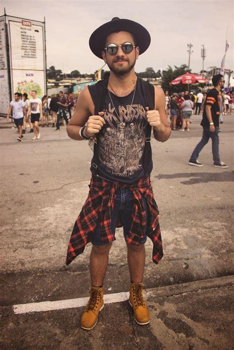 Os Looks Masculinos do LollaPalooza Brasil 2015! | Coachella Man style and Male style