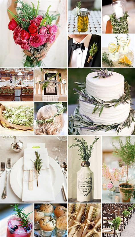 rosemary wedding ideas